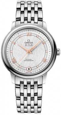Buy this new Omega De Ville Prestige Co-Axial 32.7 424.10.33.20.52.001 ladies watch for the discount price of £2,850.00. UK Retailer.