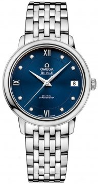 Buy this new Omega De Ville Prestige Co-Axial 32.7 424.10.33.20.53.001 ladies watch for the discount price of £2,448.00. UK Retailer.