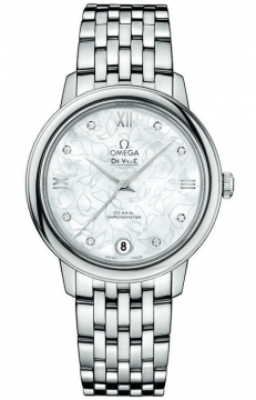 Buy this new Omega De Ville Prestige Co-Axial 32.7 424.10.33.20.55.001 ladies watch for the discount price of £3,096.00. UK Retailer.