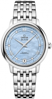 Buy this new Omega De Ville Prestige Co-Axial 32.7 424.10.33.20.57.001 ladies watch for the discount price of £2,736.00. UK Retailer.