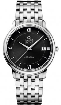 Buy this new Omega De Ville Prestige Co-Axial 36.8 424.10.37.20.01.001 midsize watch for the discount price of £2,232.00. UK Retailer.