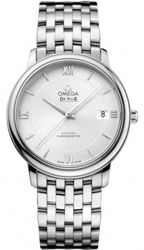 Omega De Ville Prestige Co-Axial 36.8 Midsize watch, model number - 424.10.37.20.02.001, discount price of £2,232.00 from The Watch Source