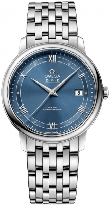 Buy this new Omega De Ville Prestige Co-Axial 39.5 424.10.40.20.03.002 mens watch for the discount price of £2,754.00. UK Retailer.