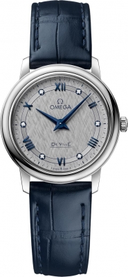 Buy this new Omega De Ville Prestige 27.4mm 424.13.27.60.56.001 ladies watch for the discount price of £2,043.00. UK Retailer.