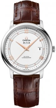 Buy this new Omega De Ville Prestige Co-Axial 39.5 424.13.40.20.02.002 mens watch for the discount price of £2,160.00. UK Retailer.
