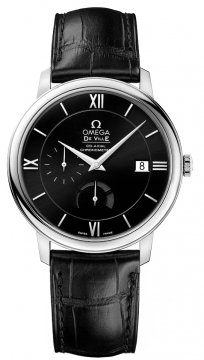Buy this new Omega De Ville Prestige Power Reserve Co-Axial 424.13.40.21.01.001 mens watch for the discount price of £2,880.00. UK Retailer.