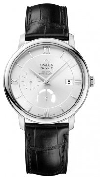 Omega De Ville Prestige Power Reserve Co-Axial Mens watch, model number - 424.13.40.21.02.001, discount price of £2,716.00 from The Watch Source