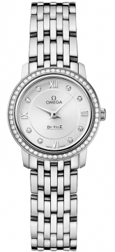Omega De Ville Prestige 24.4mm Ladies watch, model number - 424.15.24.60.52.001, discount price of £3,865.00 from The Watch Source