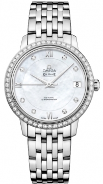 Omega De Ville Prestige Co-Axial 32.7 Ladies watch, model number - 424.15.33.20.55.001, discount price of £6,515.00 from The Watch Source