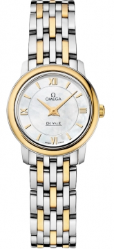 Omega De Ville Prestige 24.4mm Ladies watch, model number - 424.20.24.60.05.001, discount price of £2,736.00 from The Watch Source