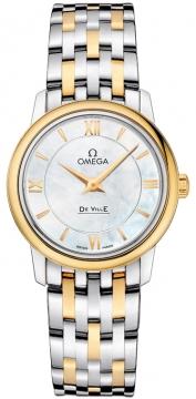 Buy this new Omega De Ville Prestige 27.4mm 424.20.27.60.05.001 ladies watch for the discount price of £3,132.00. UK Retailer.