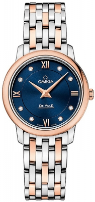 Buy this new Omega De Ville Prestige 27.4mm 424.20.27.60.53.001 ladies watch for the discount price of £3,276.00. UK Retailer.