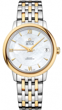 Omega De Ville Prestige Co-Axial 32.7 Ladies watch, model number - 424.20.33.20.05.001, discount price of £3,909.00 from The Watch Source