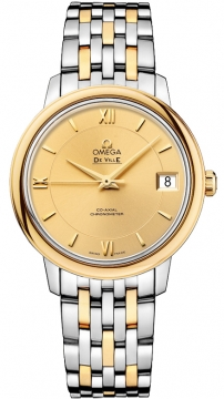 Omega De Ville Prestige Co-Axial 32.7 Ladies watch, model number - 424.20.33.20.08.001, discount price of £3,924.00 from The Watch Source