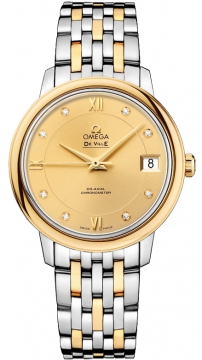 Buy this new Omega De Ville Prestige Co-Axial 32.7 424.20.33.20.58.001 ladies watch for the discount price of £4,284.00. UK Retailer.