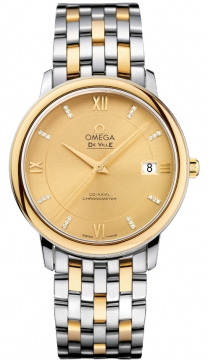 Omega De Ville Prestige Co-Axial 36.8 Mens watch, model number - 424.20.37.20.58.001, discount price of £4,325.00 from The Watch Source