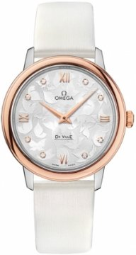 Buy this new Omega De Ville Prestige 32.7mm 424.22.33.60.52.001 ladies watch for the discount price of £2,700.00. UK Retailer.