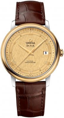 Omega De Ville Prestige Co-Axial 39.5 424.23.40.20.08.001 watch