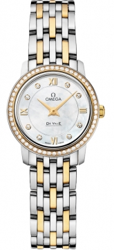 Omega De Ville Prestige 24.4mm Ladies watch, model number - 424.25.24.60.55.001, discount price of £5,100.00 from The Watch Source