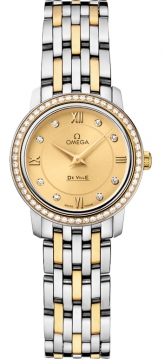 Omega De Ville Prestige 24.4mm Ladies watch, model number - 424.25.24.60.58.001, discount price of £4,960.00 from The Watch Source