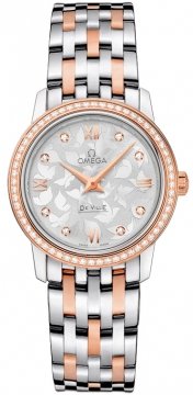 Buy this new Omega De Ville Prestige 27.4mm 424.25.27.60.52.001 ladies watch for the discount price of £6,804.00. UK Retailer.