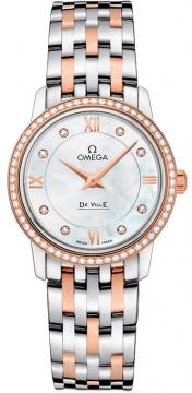 Buy this new Omega De Ville Prestige 27.4mm 424.25.27.60.55.002 ladies watch for the discount price of £6,804.00. UK Retailer.