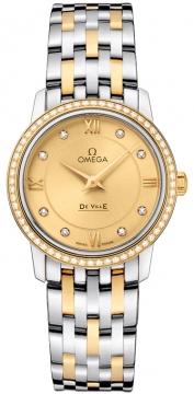 Buy this new Omega De Ville Prestige 27.4mm 424.25.27.60.58.001 ladies watch for the discount price of £6,660.00. UK Retailer.