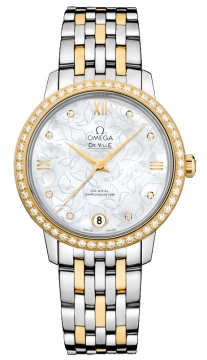 Buy this new Omega De Ville Prestige Co-Axial 32.7 424.25.33.20.55.004 ladies watch for the discount price of £9,396.00. UK Retailer.