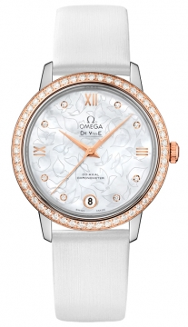 Buy this new Omega De Ville Prestige Co-Axial 32.7 424.27.33.20.55.001 ladies watch for the discount price of £9,918.00. UK Retailer.