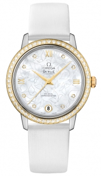 Buy this new Omega De Ville Prestige Co-Axial 32.7 424.27.33.20.55.002 ladies watch for the discount price of £9,918.00. UK Retailer.