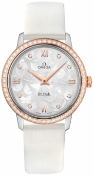Buy this new Omega De Ville Prestige 32.7mm 424.27.33.60.52.001 ladies watch for the discount price of £7,308.00. UK Retailer.