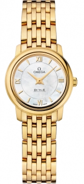 Omega De Ville Prestige 24.4mm Ladies watch, model number - 424.50.24.60.05.001, discount price of £8,320.00 from The Watch Source