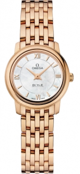 Omega De Ville Prestige 24.4mm Ladies watch, model number - 424.50.24.60.05.002, discount price of £8,320.00 from The Watch Source