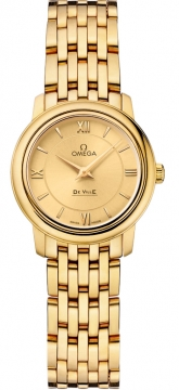 Omega De Ville Prestige 24.4mm Ladies watch, model number - 424.50.24.60.08.001, discount price of £9,108.00 from The Watch Source