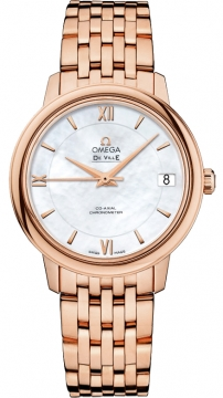 Omega De Ville Prestige Co-Axial 32.7 Ladies watch, model number - 424.50.33.20.05.002, discount price of £12,996.00 from The Watch Source