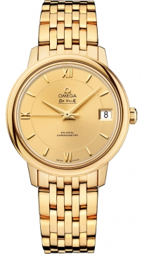 Omega De Ville Prestige Co-Axial 32.7 Ladies watch, model number - 424.50.33.20.08.001, discount price of £11,410.00 from The Watch Source