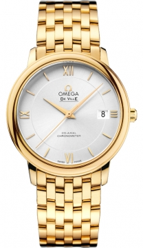 Buy this new Omega De Ville Prestige Co-Axial 36.8 424.50.37.20.02.002 midsize watch for the discount price of £14,400.00. UK Retailer.