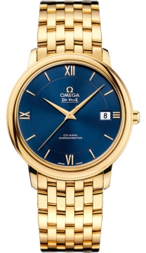 Buy this new Omega De Ville Prestige Co-Axial 36.8 424.50.37.20.03.001 midsize watch for the discount price of £14,400.00. UK Retailer.