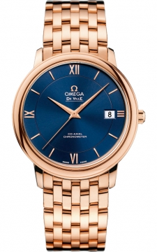 Buy this new Omega De Ville Prestige Co-Axial 36.8 424.50.37.20.03.002 midsize watch for the discount price of £14,400.00. UK Retailer.