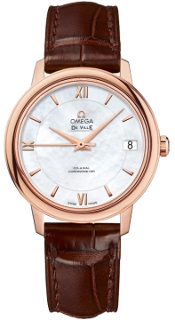 Omega De Ville Prestige Co-Axial 32.7 Ladies watch, model number - 424.53.33.20.05.001, discount price of £4,640.00 from The Watch Source