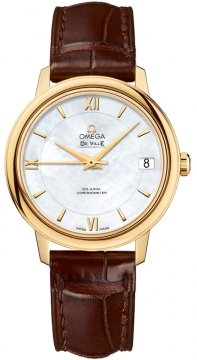 Buy this new Omega De Ville Prestige Co-Axial 32.7 424.53.33.20.05.002 ladies watch for the discount price of £4,896.00. UK Retailer.
