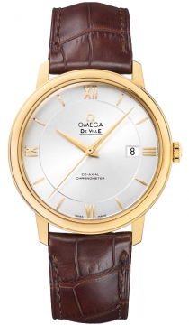 Omega De Ville Prestige Co-Axial 39.5 Mens watch, model number - 424.53.40.20.02.002, discount price of £5,320.00 from The Watch Source