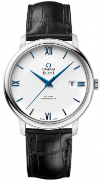Omega De Ville Prestige Co-Axial 39.5 Mens watch, model number - 424.53.40.20.04.001, discount price of £6,320.00 from The Watch Source