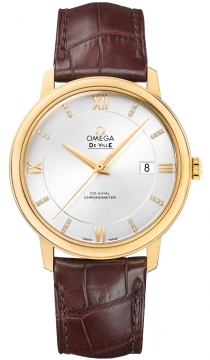 Omega De Ville Prestige Co-Axial 39.5 Mens watch, model number - 424.53.40.20.52.001, discount price of £6,380.00 from The Watch Source