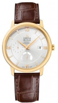 Omega De Ville Prestige Power Reserve Co-Axial Mens watch, model number - 424.53.40.21.52.001, discount price of £7,025.00 from The Watch Source