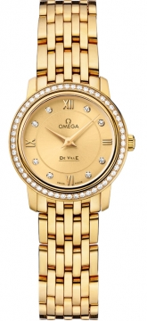 Omega De Ville Prestige 24.4mm Ladies watch, model number - 424.55.24.60.58.001, discount price of £12,060.00 from The Watch Source
