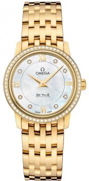 Buy this new Omega De Ville Prestige 27.4mm 424.55.27.60.55.001 ladies watch for the discount price of £14,148.00. UK Retailer.