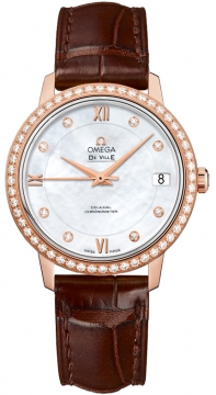 Omega De Ville Prestige Co-Axial 32.7 Ladies watch, model number - 424.58.33.20.55.001, discount price of £9,095.00 from The Watch Source