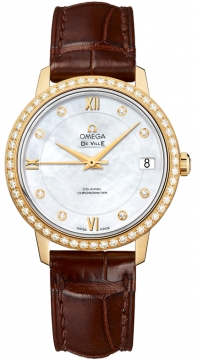 Buy this new Omega De Ville Prestige Co-Axial 32.7 424.58.33.20.55.002 ladies watch for the discount price of £11,925.00. UK Retailer.
