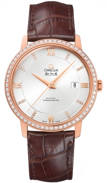 Buy this new Omega De Ville Prestige Co-Axial 39.5 424.58.40.20.52.002 mens watch for the discount price of £14,562.00. UK Retailer.
